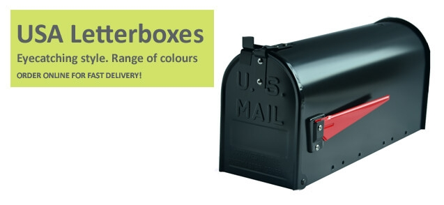 American style mailboxes
